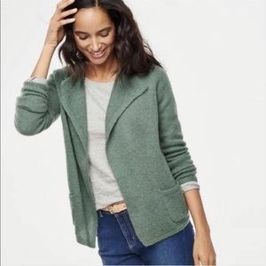 Boden Mohair Mix Cardigan in Green